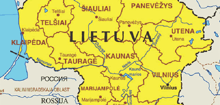 litvanija karta evrope Litvanija u očima jednog Banjalučanina   eTrafika litvanija karta evrope