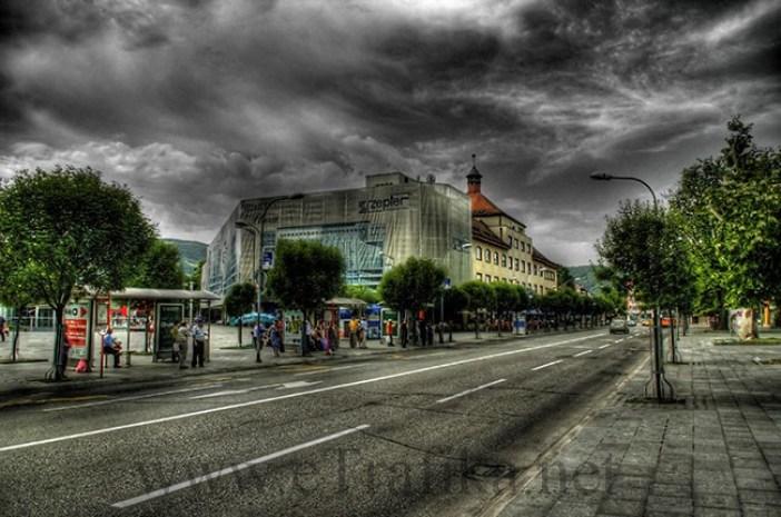 Glavna banjalučka ulica u HDR tehnici