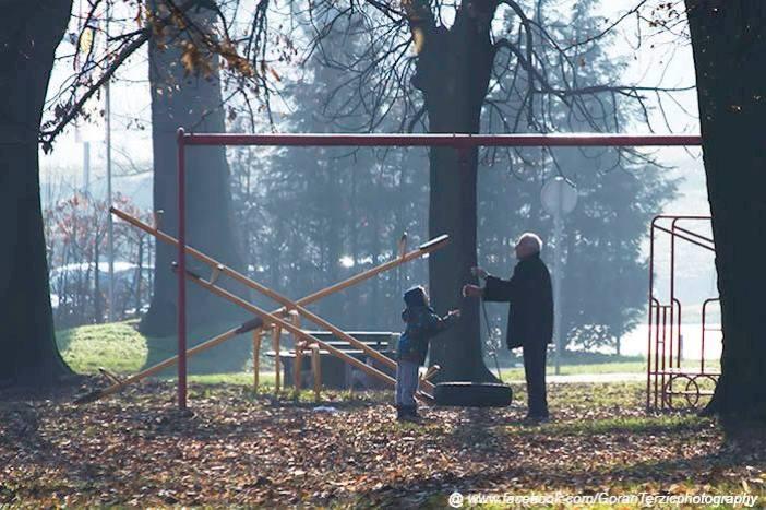 Jutro u parku Mladen Stojanović