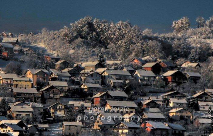 Ljepota zimskog jutra u Banjaluci