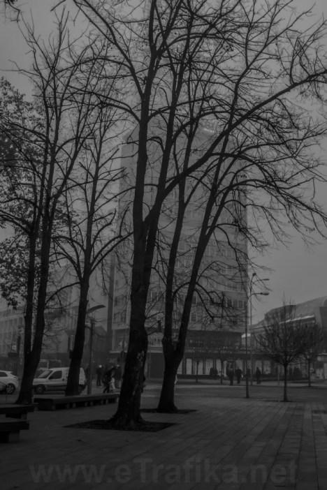 Maglovito jutro u Banjaluci