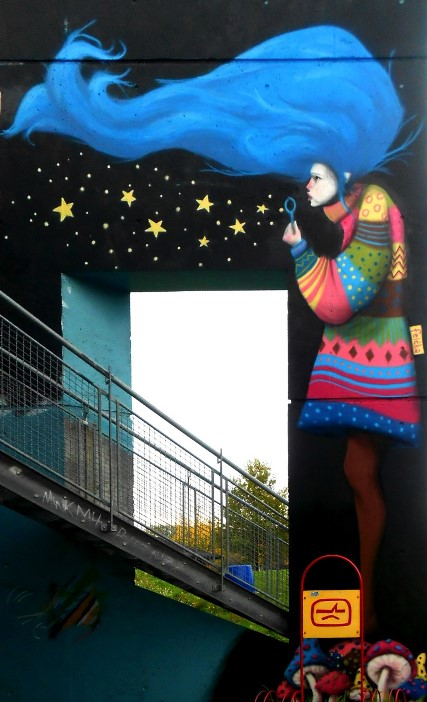 "Mural ""Vila"" u Berlinu"